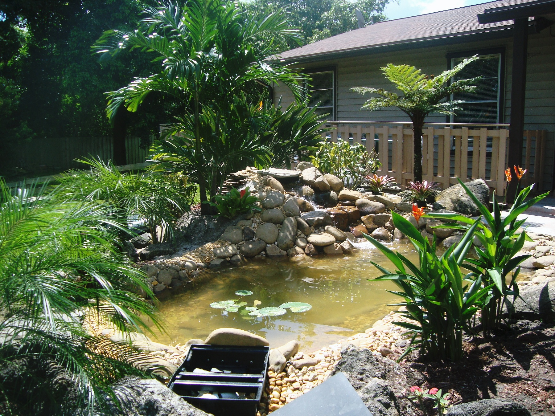 Scottsproserv 39 s blog lanscaping design lawncare Kio ponds